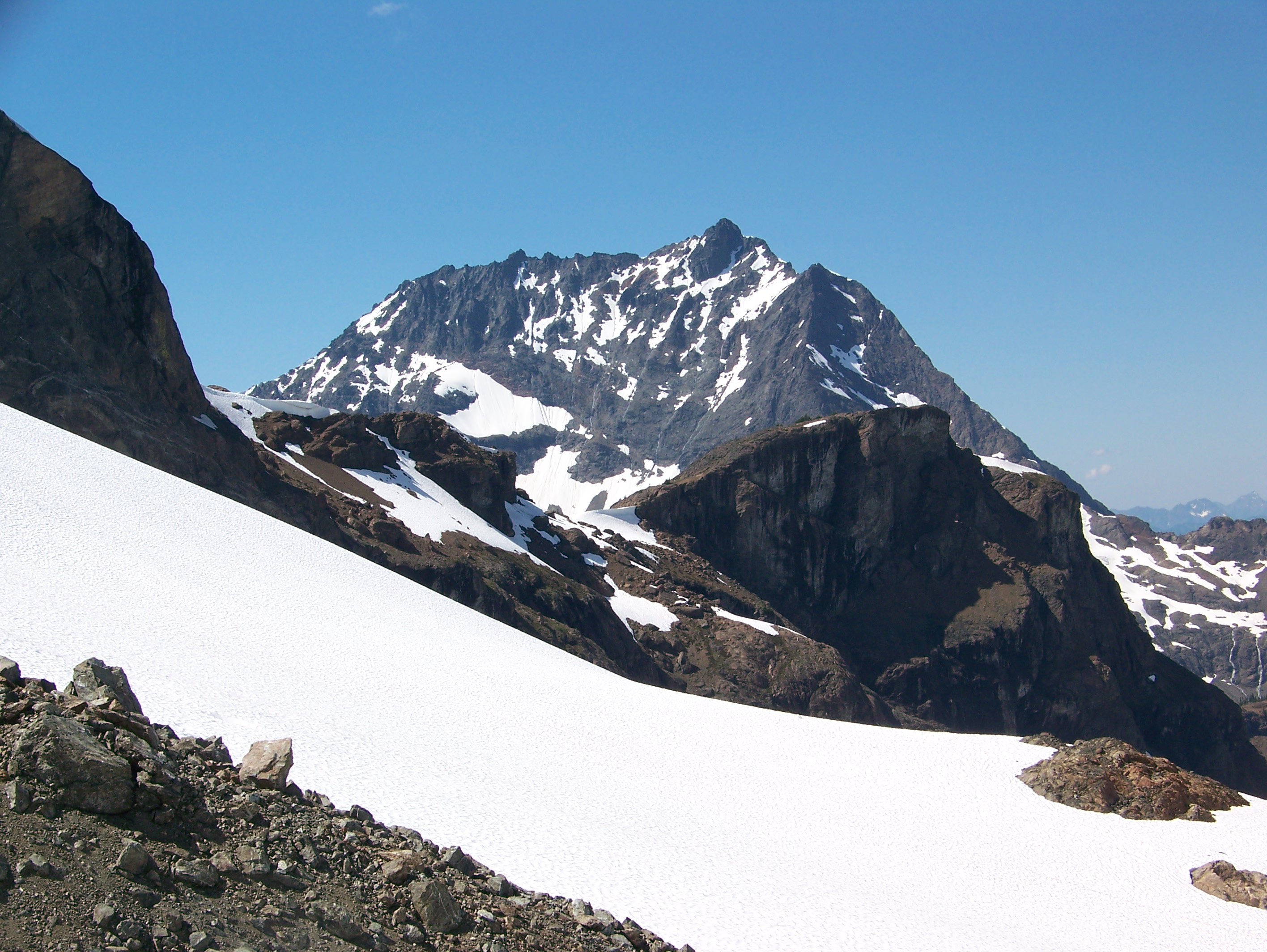 The Crest of the North Cascades: Crater Mountain