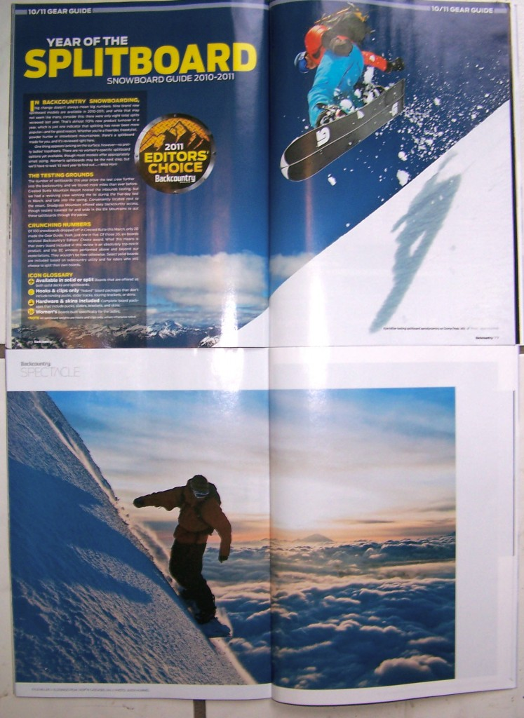 Backcountry Magazine photo