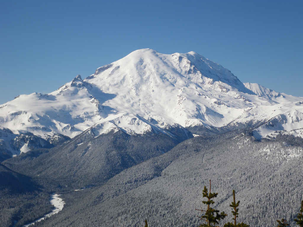 Rainier from Crystal