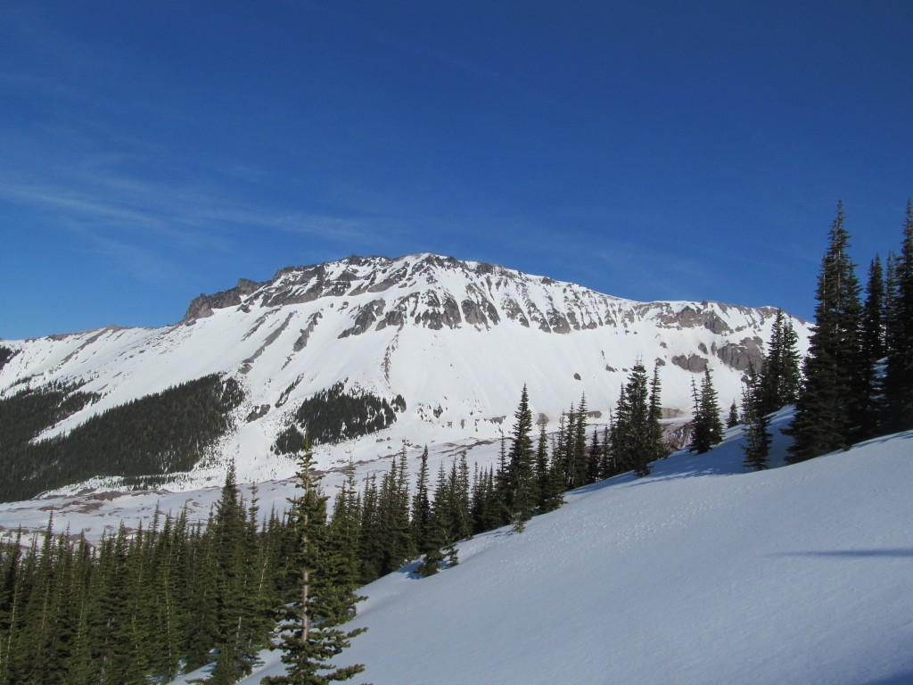 Looking back at the 3rd Burrough from Mineral Basin