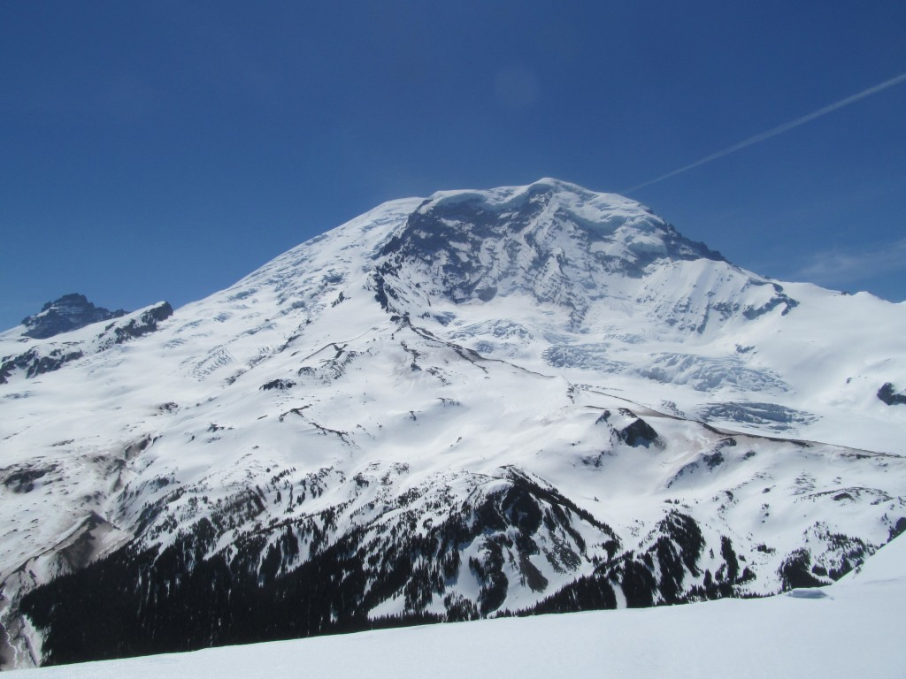 Rainier from the summit of Old Desolate