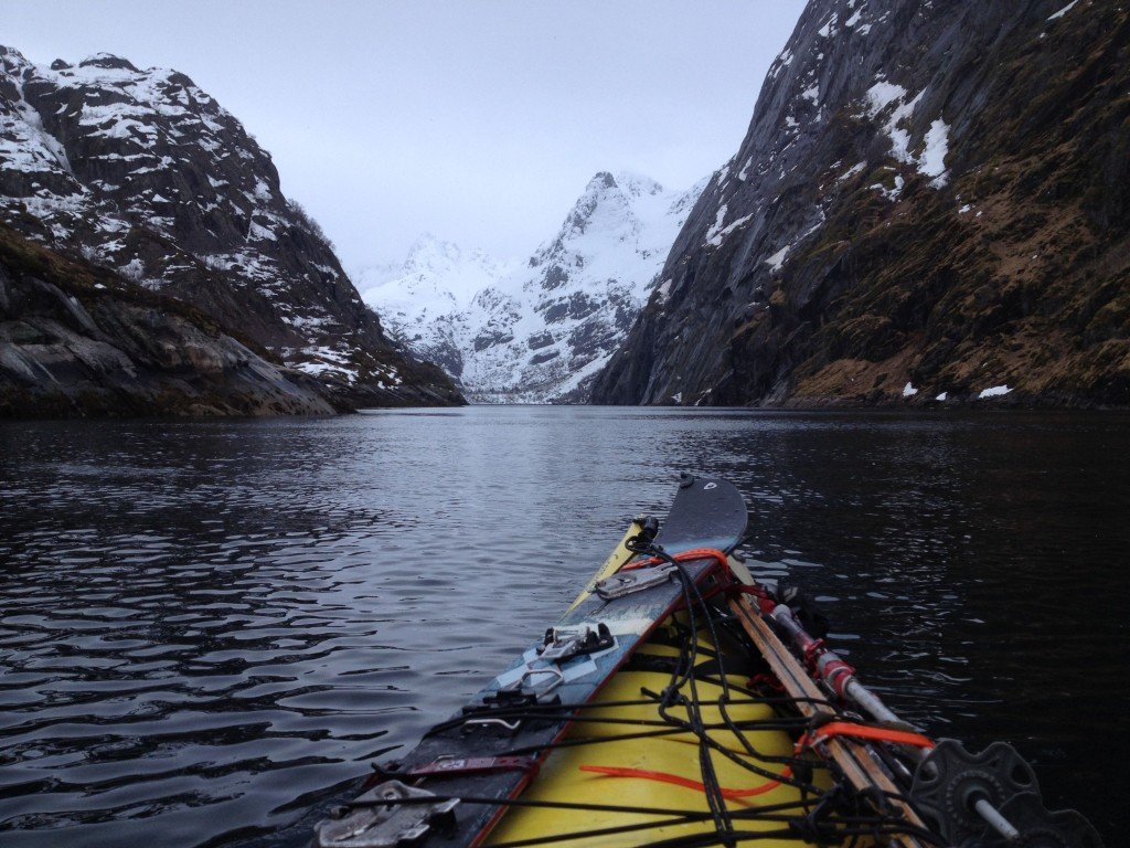 Split Kayaking In The Fjords Of Norway