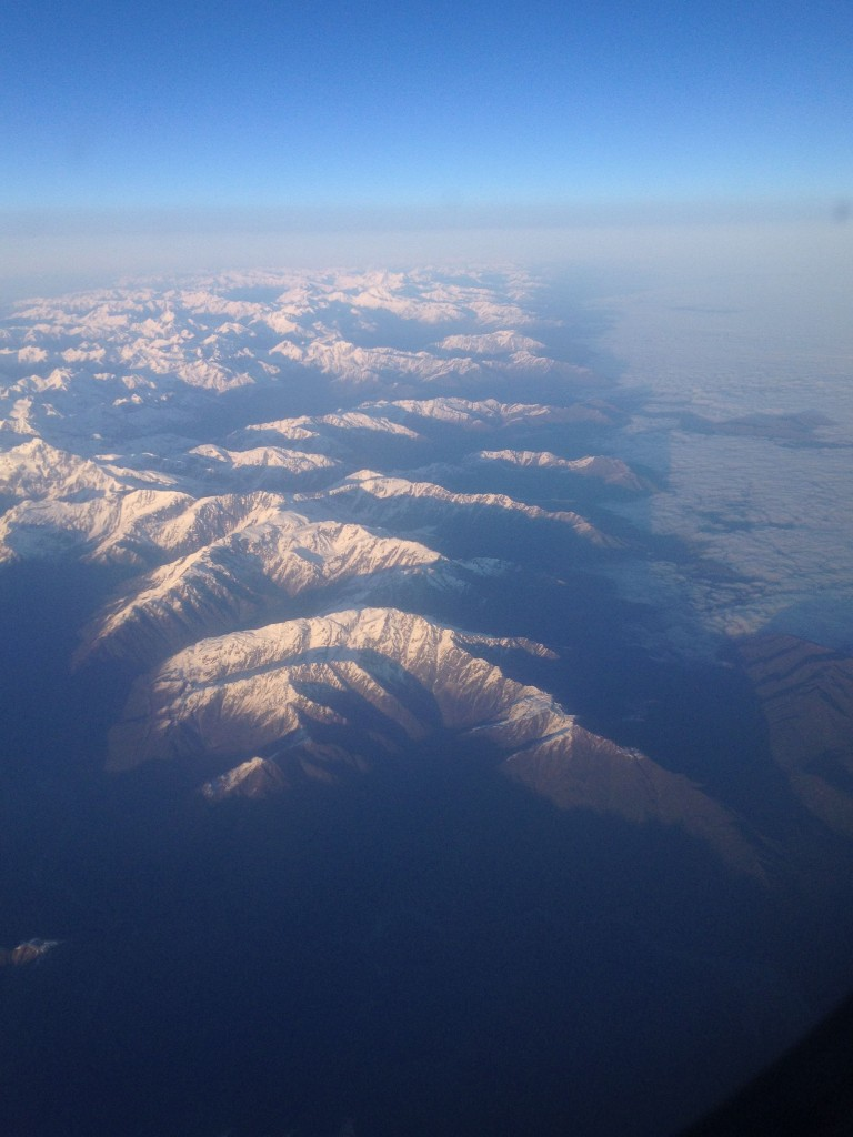 Leaving the West Coast of New Zealand