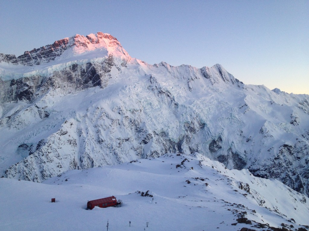 Mt. Sefton and the Muller Hut