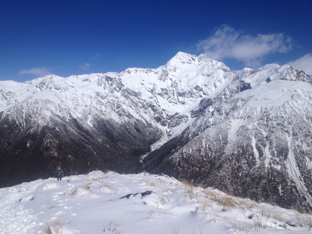 Looking into Arthur's Pass National Park
