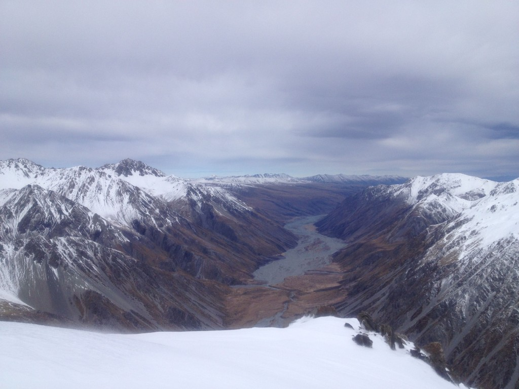 Looking back down the Macauly River